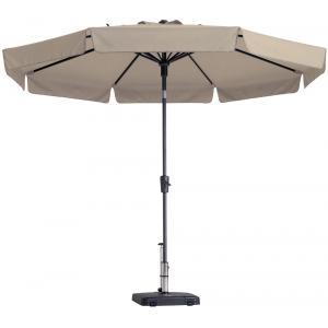 Madison parasol Flores rond 300 cm ecru