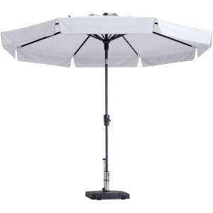 Madison parasol Flores rond 300 cm gebroken wit