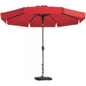 Madison parasol Flores rond 300 cm rood