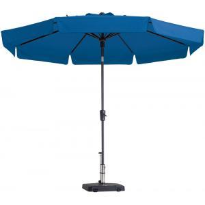 Madison parasol Flores rond 300 cm turquoise