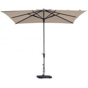 Madison parasol Syros Luxe vierkant 280 cm ecru