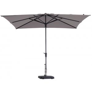 Madison parasol Syros Luxe vierkant 280 cm taupe