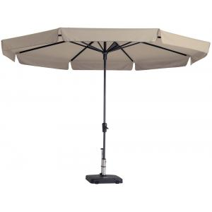 Madison parasol Syros rond 350 cm ecru