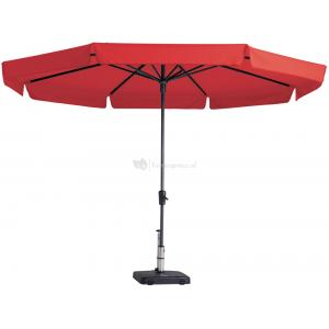 Madison parasol Syros rond 350 cm rood