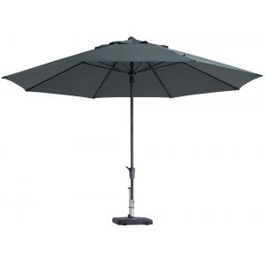 Madison parasol Timor Luxe rond 400 cm grijs