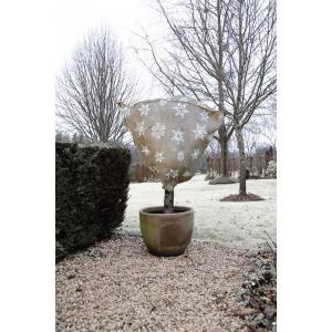 Winter afdekhoes jute naturel 75 cm - 200 g/m2