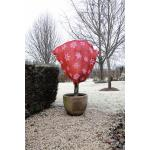 Winter afdekhoes jute rood 75 cm - 200 g/m2