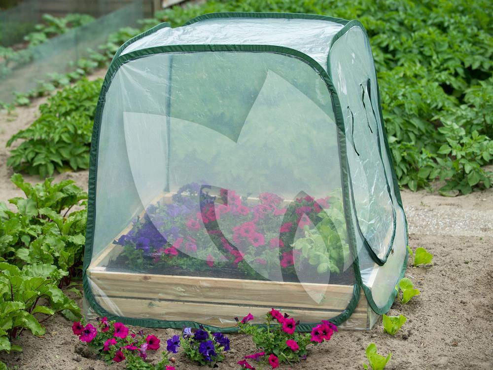 Vierkante Meter Tuin : Nature beschermhoes voor vierkantemetertuin transparant