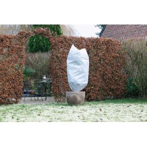 Winterafdekhoes met koord 50 g/m2 wit - 100 x 150 cm
