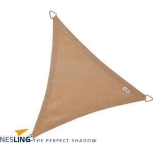 Korting Coolfit schaduwdoek driehoek zand 3.6 x 3.6 x 3.6 meter