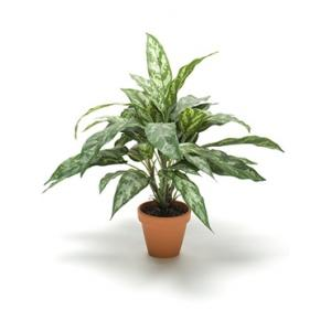 Kunstplant Aglaonema in pot