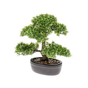 Kunstplant Bonsai ficus mini M