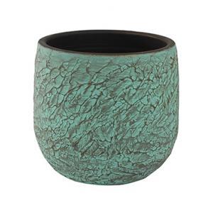 Pot evi antiq bronze bloempot binnen 32 cm