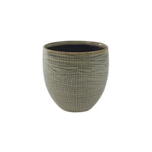 Pot lotte light grey bloempot binnen 16 cm