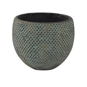Pot fay blue gold bloempot binnen 24 cm