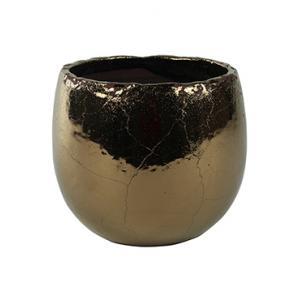 Pot kristy gold bloempot binnen 18 cm