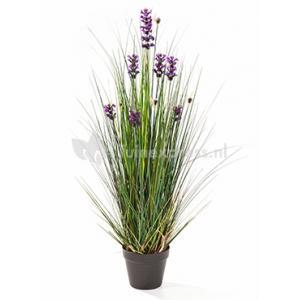 Kunstplant Lavender grass S