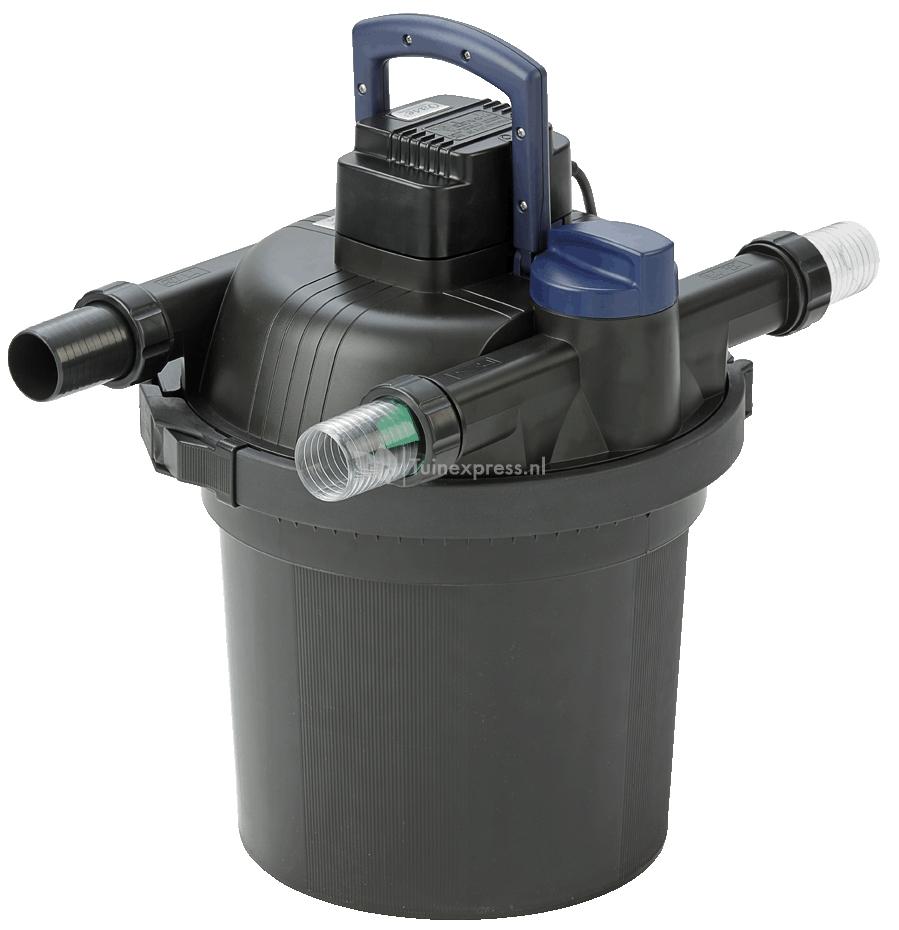 Oase filtoclear drukfilter for Filter vijver schoonmaken