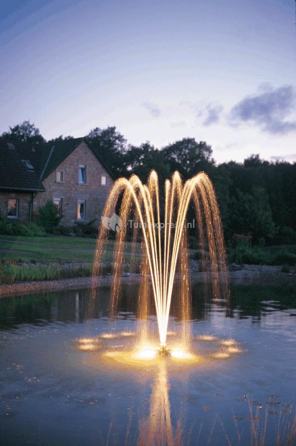 Oase pondjet eco drijvende fontein for Vijverpomp voor grote vijver