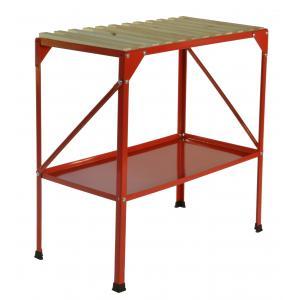 Oppottafel 77 x 40 x 77 cm rood