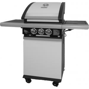 Patton BBQ Patio Chef 2+ wit