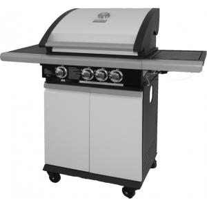 Afbeelding van product Patton Patio Chef 3+ wit gasbarbecue
