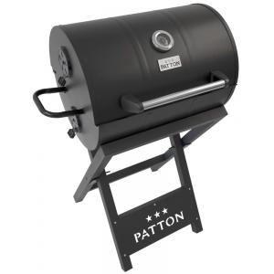 Patton Barrel Chef houtskool BBQ