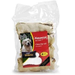 DeliSnacks kauwrol zalm hondensnack
