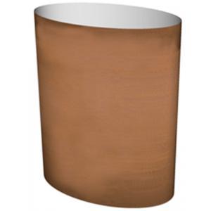 Cortenstaal plantenbak Big Oval 75x45x90cm op een ring