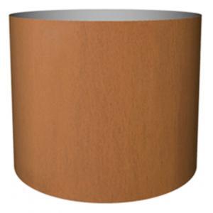 Cortenstaal plantenbak Standard cylinder 40x48cm op een ring