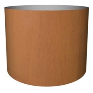 Cortenstaal plantenbak Standard cylinder 65x80cm op een ring