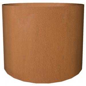 Cortenstaal plantenbak Standard cylinder 77x95cm