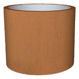 Cortenstaal plantenbak Standard Topper cylinder 65x80cm op een ring