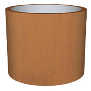 Cortenstaal plantenbak Standard Topper cylinder 77x95cm op een ring