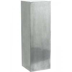 Plantenzuil aluminium 33x33x100 cm
