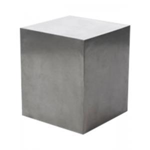 Plantenzuil aluminium 37x37x44 cm