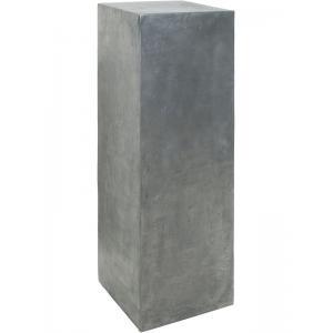 Plantenzuil aluminium beton look 35x35x120 cm