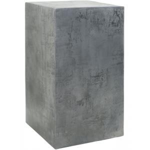 Plantenzuil aluminium beton look 35x35x60 cm