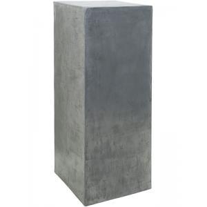 Plantenzuil aluminium beton look 35x35x90 cm