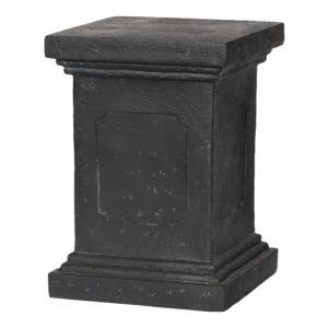 Plantenzuil Capi classic zwart 40x40x51 cm