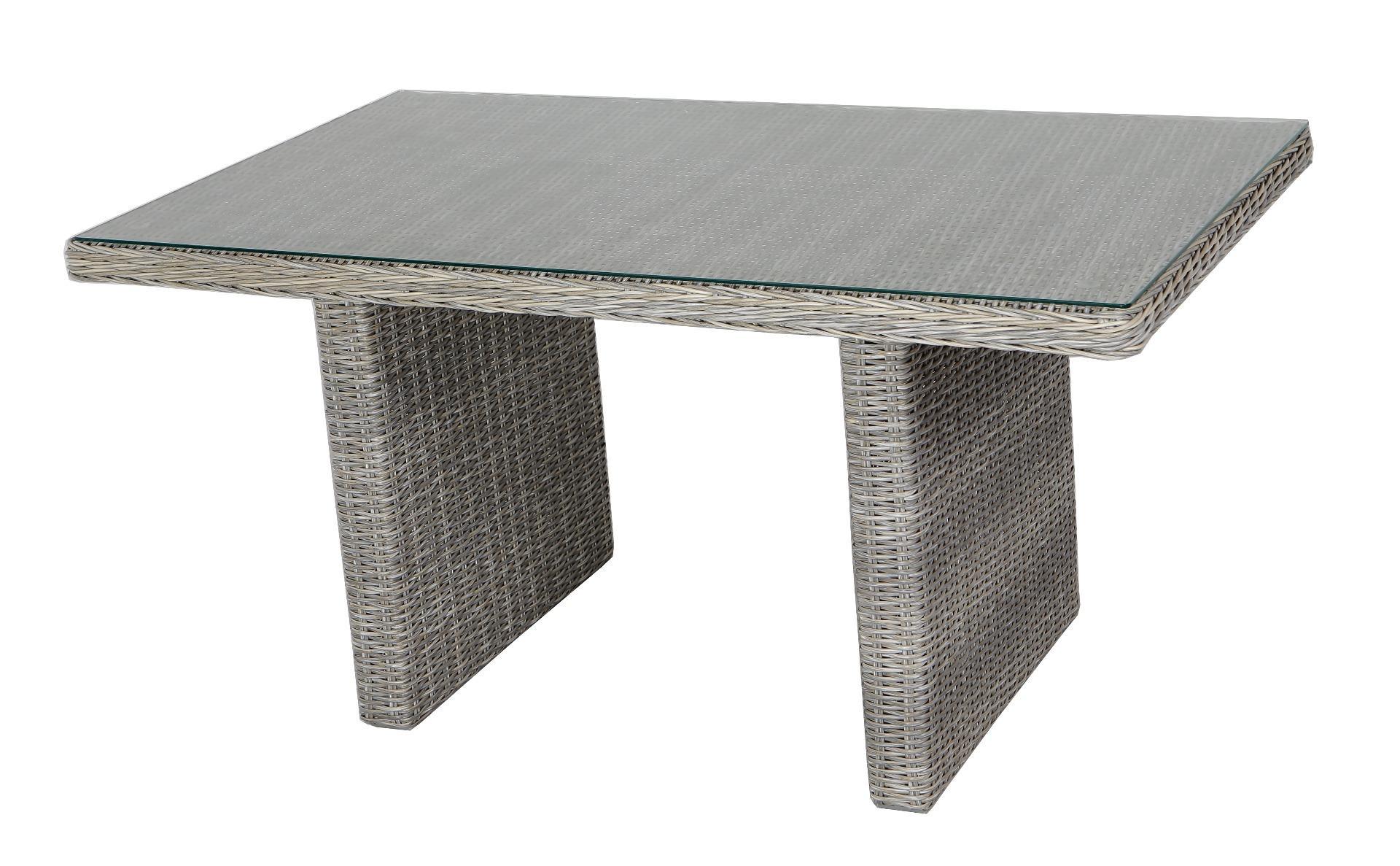 Bolzano column table 145x84x66 cm