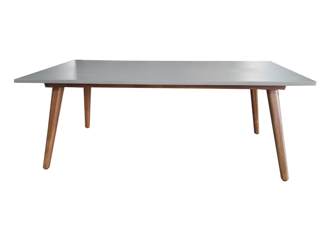 Korting Andorra dining table with polystone top 200x100x75