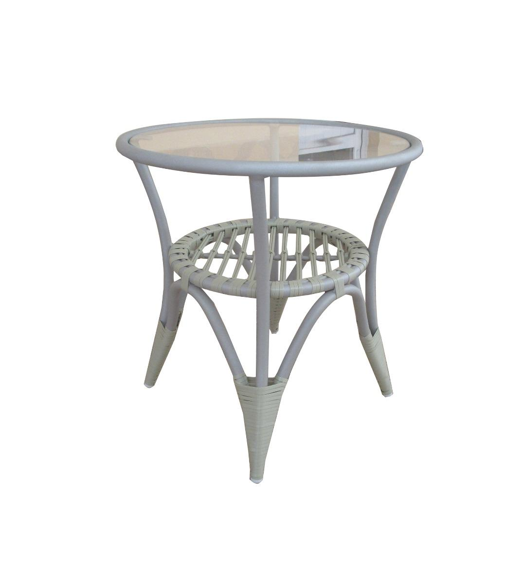 Tahiti lounge round table 50x50x52cm