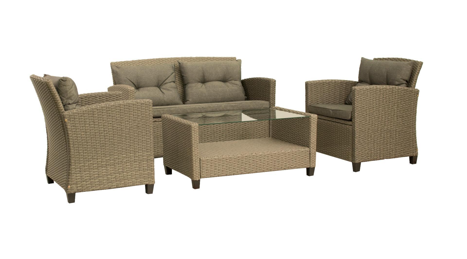 Korting Mora lounge set 4 pcs