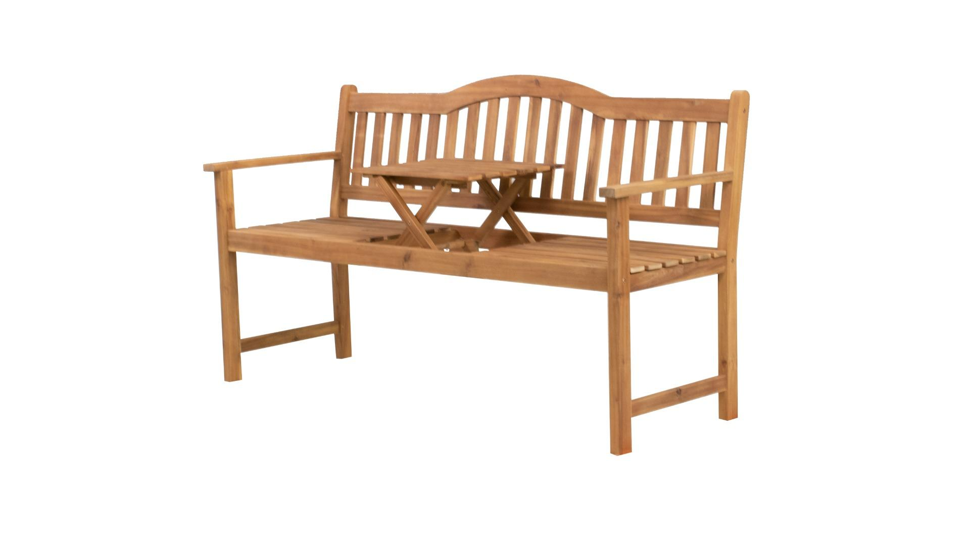Sarah bench with coffee table 152x59x86 cm