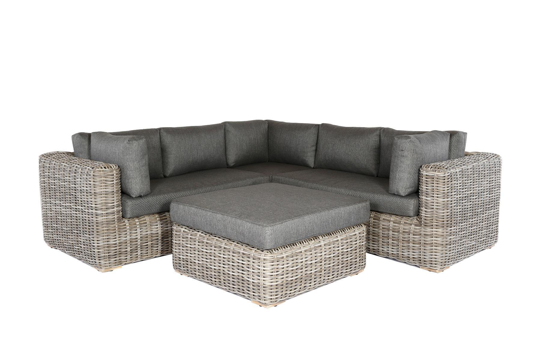 Korting Cervo lounge corner set 4pcs (left arm right arm corner table)