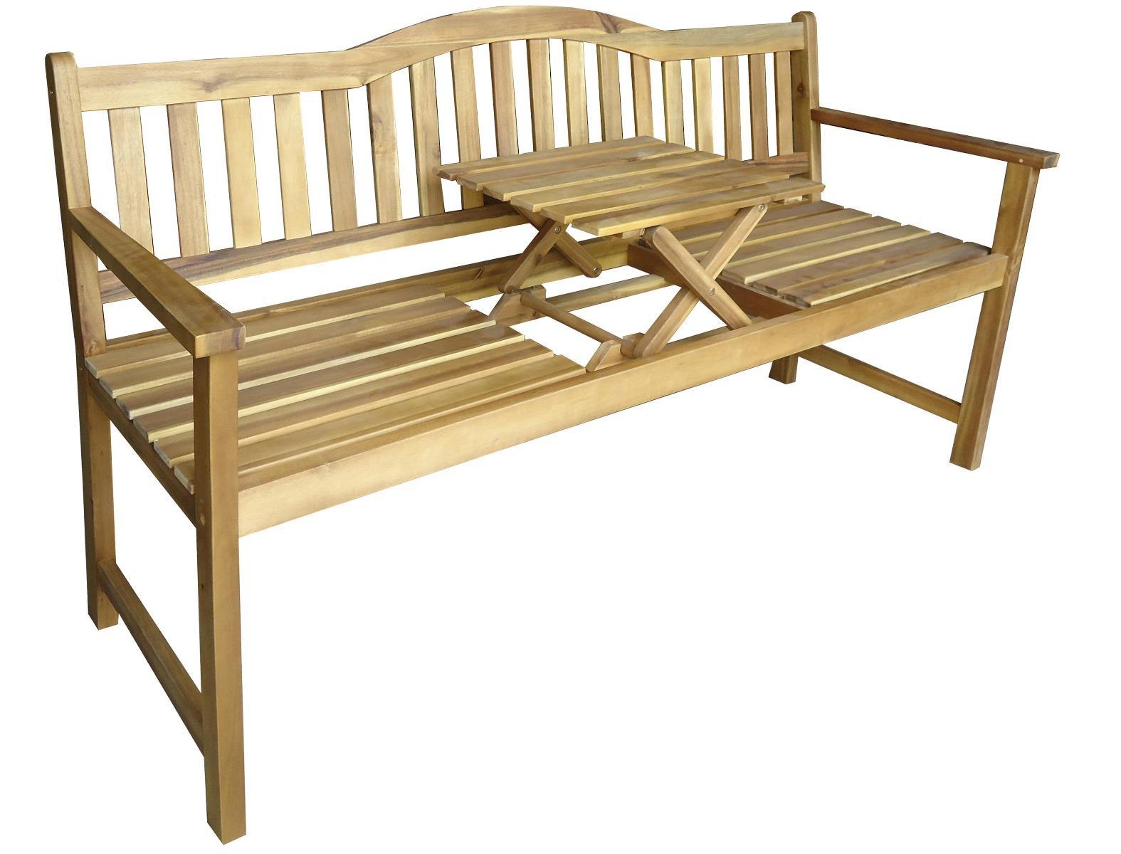 Korting Sarah bench with coffee table 59x156x86cm