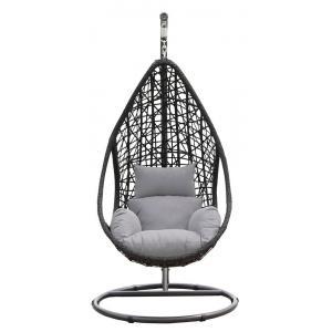 SenS line hangstoel Mona relax zwart