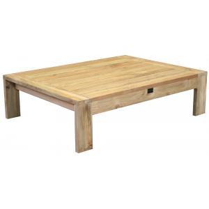 Da Vinci houten tuintafel 110x83x31 cm