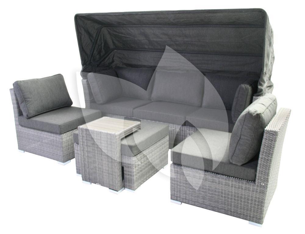 Sens line loungeset everton island antraciet - Loungeset balkon ...